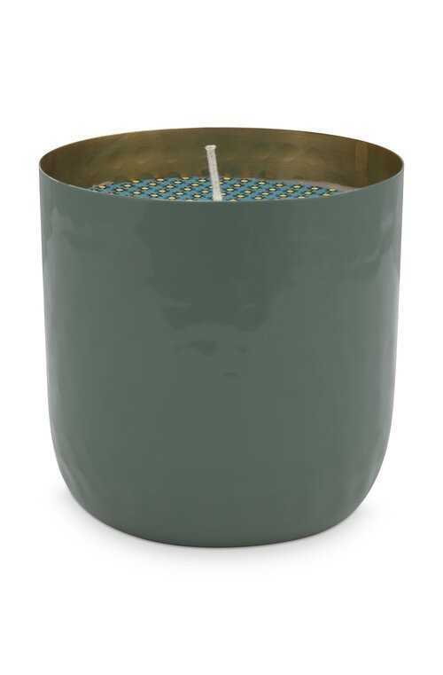 Cup with Candle Green 9cm