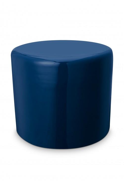 Stool Metal Blue 43x36cm