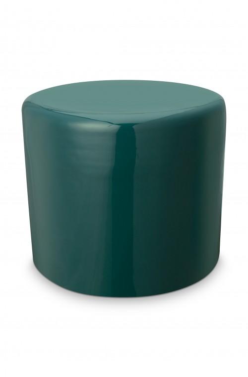 Stool Metal Dark Green 43x36cm