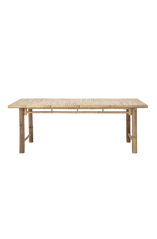 Sole Dining Table, Nature, BambooL200xH74xW100 cm