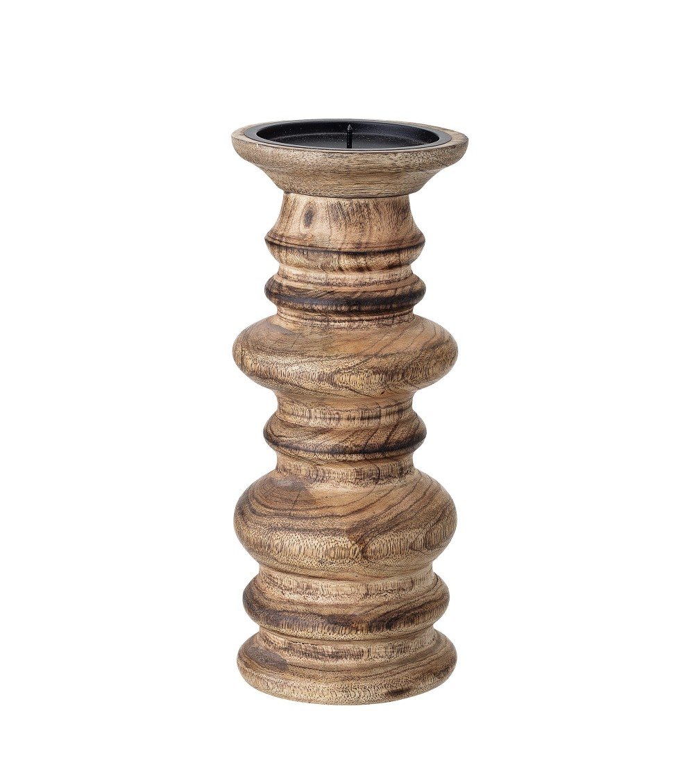 Candle Holder, Brown, Mango?10