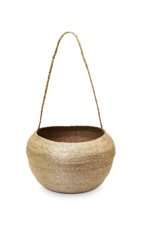 Basket with Handle Conical Gol