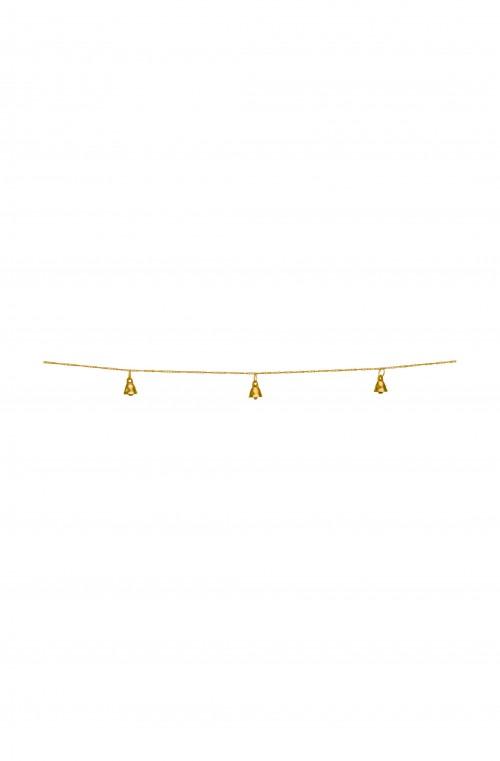 Garland Bells Metal Gold 250cm
