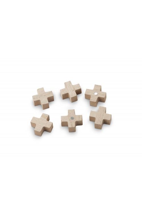 Set/6 Wooden Magnets Cross