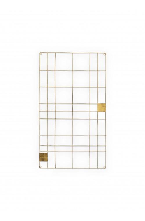 Memo Board Wire Gold 60x105cm