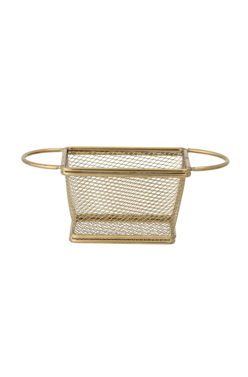 Serving Basket, Gold, Stainles