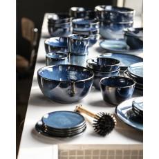 VTWOVEN Dinnerware Dark Blue