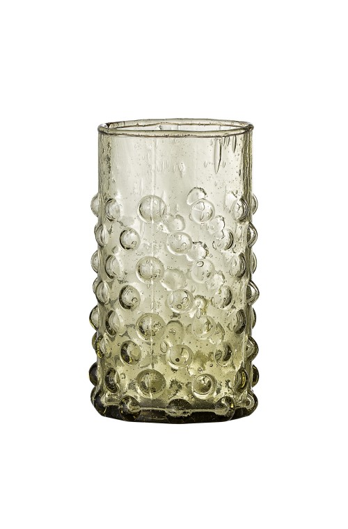 Freja Drinking Glass, Green, R